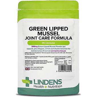 Lindens Green Lipped Mussel 500mg Capsules 90 (4951)