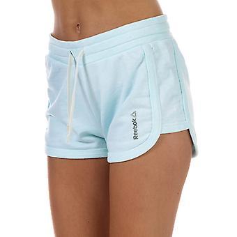 Women's Reebok Elements Marble Shorts in Blue