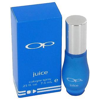 Op juice mini cologne spray by ocean pacific 446675 7 ml