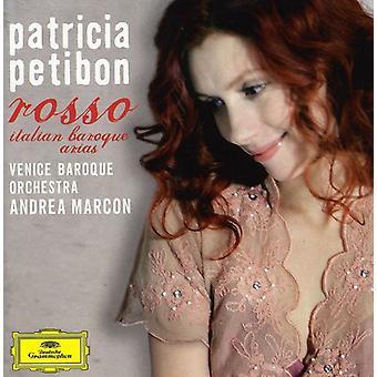 Patricia Petibon - Rosso: Italian Baroque Arias [CD] USA import