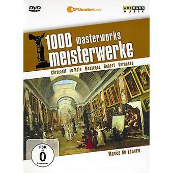 美術館ルーヴル美術館 1000 名品 【 DVD 】 米国のインポートします。