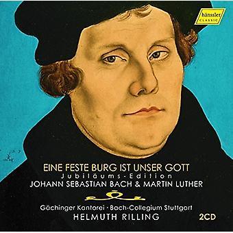 Bach, J.S. / Luther / Kantorei / Rilling - Johann Sebastian Bach & Martin Luther [CD] USA import