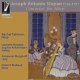 Concertos For Harp [CD] USA import