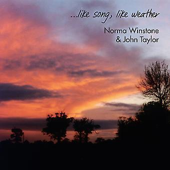 Winstone * Norma / Taylor * John - Like Song Like Weather [CD] USA import