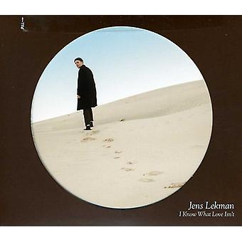 Jens Lekman - I Know What Love Isn't [CD] USA import