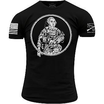 Grunt Style Taktische Washington T-Shirt - schwarz