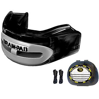 Brain Pad Pro+ Mouthguard - Black/Gray