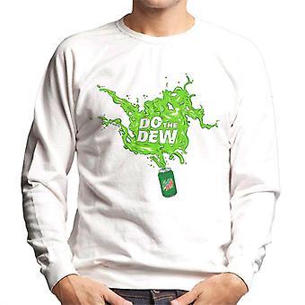 Mountain Dew tee Dew Spilt kaikkialla miesten ' s paita