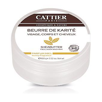 Organic Honey Shea Butter 100 g of cream