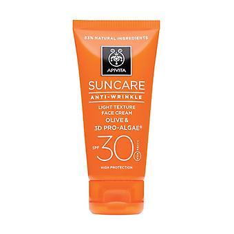 Anti-wrinkle Facial Sun Cream SPF30 50 ml of cream