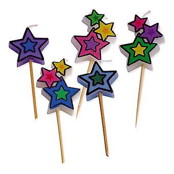 5 Pick Candles Stars