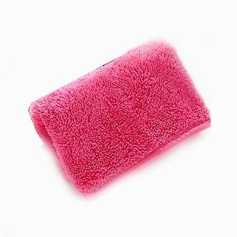 1pc Makeup Remover 40*18cm Microfiber Towel For Face Makeup Cleansing