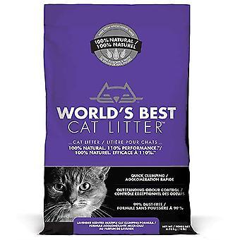 's Werelds beste kattenstrooisel lavendel - 6.35kg