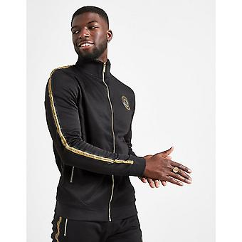 New Supply & Demand Men's Pitch Track Top Black
