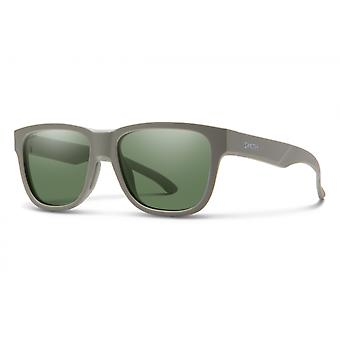 ZonnebrilLen Unisex Lowdown Slim 2 Army Green/ Grey