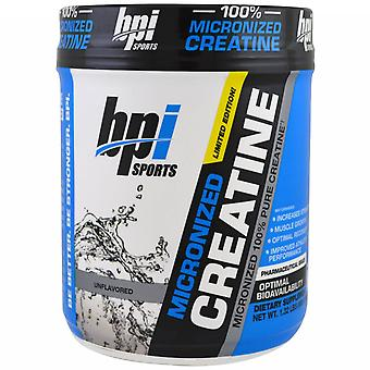 BPI Sports Micronized Creatine Unflavored 600 gr