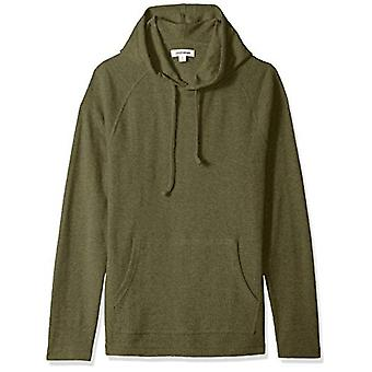 Goodthreads Men's Long-Sleeve Slub Thermal Pullover Hoodie, Olive, XX-Large T...