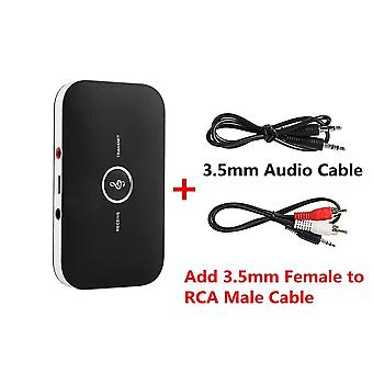 2 In 1 Rca 3.5mm 3.5 Aux Jack Bluetooth 5.0 Audio Receiver Transmitter