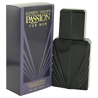 Passion Cologne Spray By Elizabeth Taylor 4 oz Cologne Spray