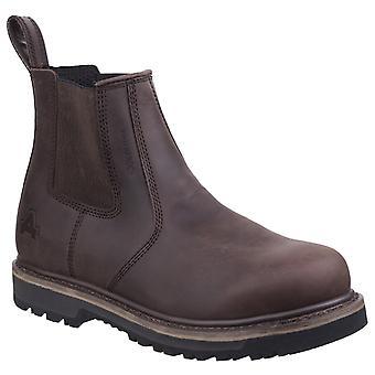 Amblers men's carlisle dealer boot brown 27120-45558