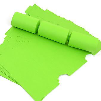 12 Lime Green Make & Vul uw eigen diy recyclebare kerst cracker boards