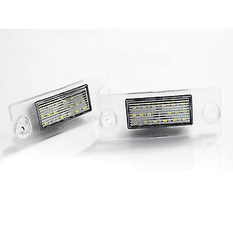 Kentekenverlichting LED voor Audi A4 B5 94-98 / A3 97-00 LED