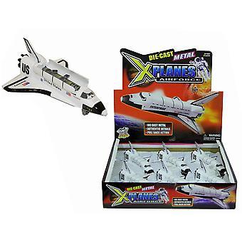 """X vliegtuigen Airforce 6"""" metaal gegoten Space Shuttle"""