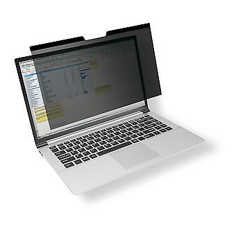 Ανθεκτικό φίλτρο προστασίας ματιών για MacBook Pro® 15, μαγνητική σύνδεση, συμπεριλαμβανομένης της τσάντας και του καθαρίζοντας υφάσματος, ανθρακίτης 515457