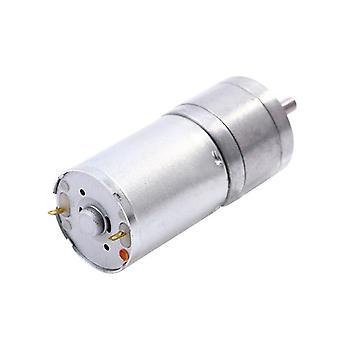 Jga25-370 موجهة موتور - 6v/12v الكهربائية عزم الدوران العالي