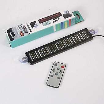 Programmable Led Display Sign Remote Control 7*41 Pixels Scrolling Message