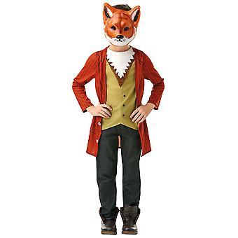 Mr Fox Roald Dahl Fantastic World Book Week Dress Up Child Boys Costume