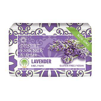 Desert Essence Lavender Bar Soap, 5 Oz