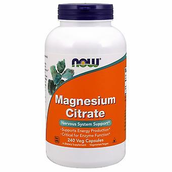 Jetzt Lebensmittel Magnesium citrat, 240 Veg Caps
