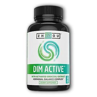 Zhou Nutrition DIM Active, 60 Veg Caps