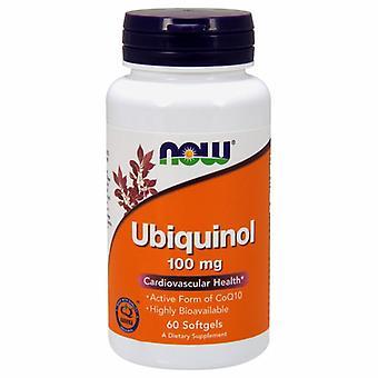 עכשיו מינוס Ubiquinol, 100 מ ג, 60 כמוסות רכות