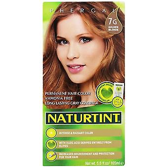 Naturtint Permanent Hair Color 7G Golden Blonde