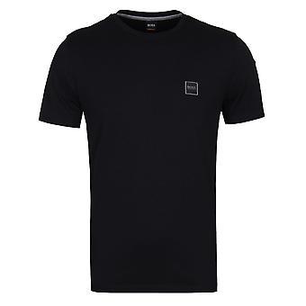 BOSS Tales Logo Badge T-Shirt - Black