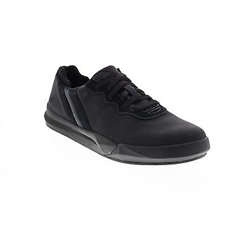 Chaussures Skechers Norsen Valo Mens Black Canvas Lifestyle Sneakers