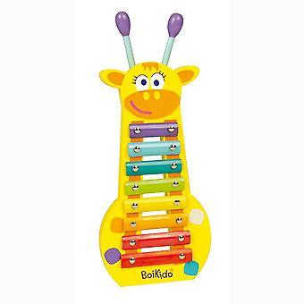 Boikido Giraffe Xylophone Wooden Toy 18 mths+
