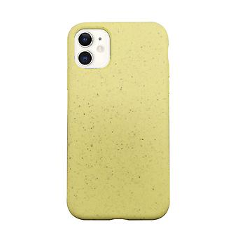 Eco Friendly Yellow iPhone 11 Case