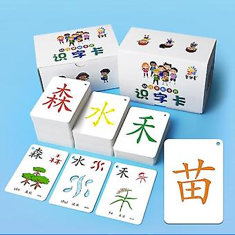 Learning Chinese Words Language Flash Cards, Kids, Baby Learning, Memory Game,