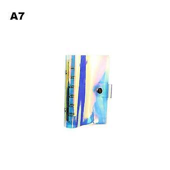 Notebook de 6 buracos, spiral Traveler, Journal Binder, Diary Planner Cover