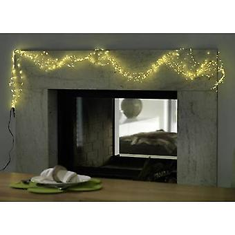 Konstsmide 6381-190 LED tinsel Droplet Warm white LED (monochrome) Transparent