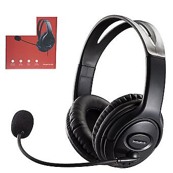 Usb Gaming Headset Adjustable Wired Computer Headphones With Microphone Music