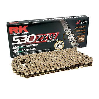 RK GB530ZXW X 114 Road Racing Motorcycle Chain Gold XW