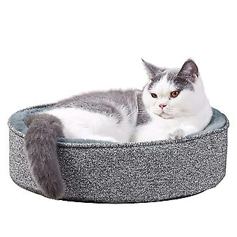 3d Egg-crate Memory Foam Cat Bed Pet Puppy Kitty Station Lounge Massage