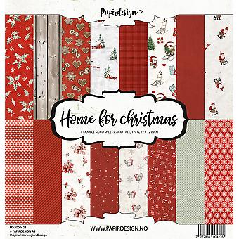 Papirdesign Home for Christmas 12x12 Inch Paper Pack