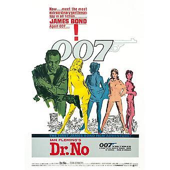 James Bond Dr No Postcard