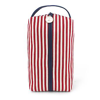 Box Zip: Poppy Stripe