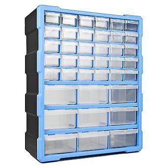 DIY Storage Organiser Unit with 39 Drawers